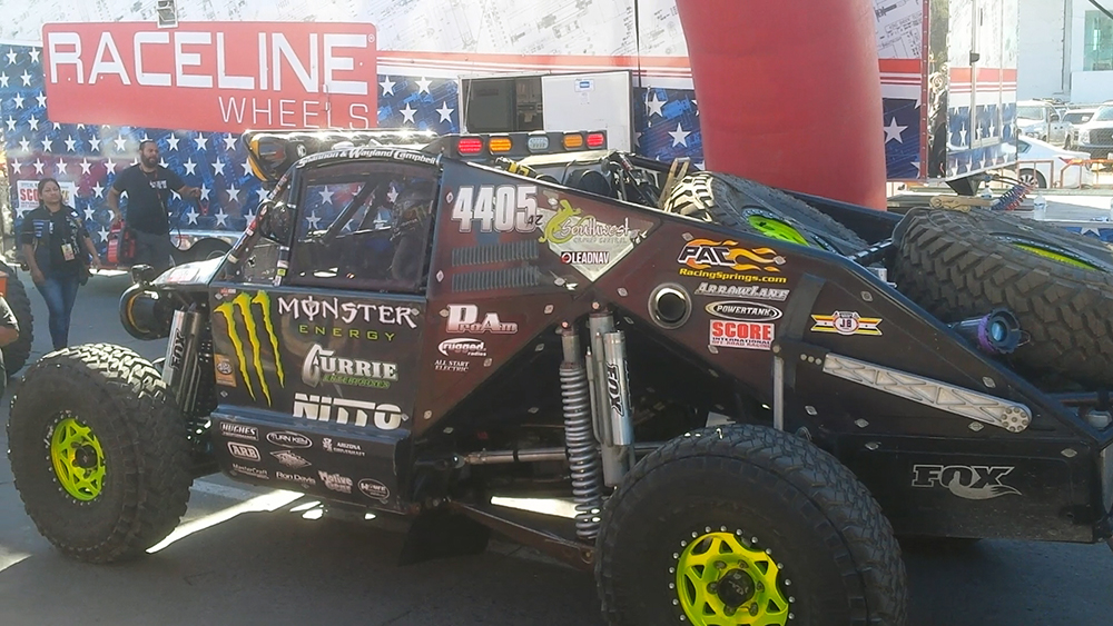 Baja 1000 -the town was full of Mad Max vehicles