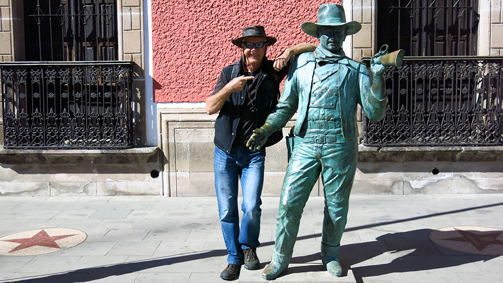 Neil and John Wayne