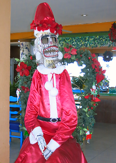 Christmas meets the Day of the Dead